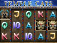 Игровой азартный онлайн-аппарат Храмовые Кошки